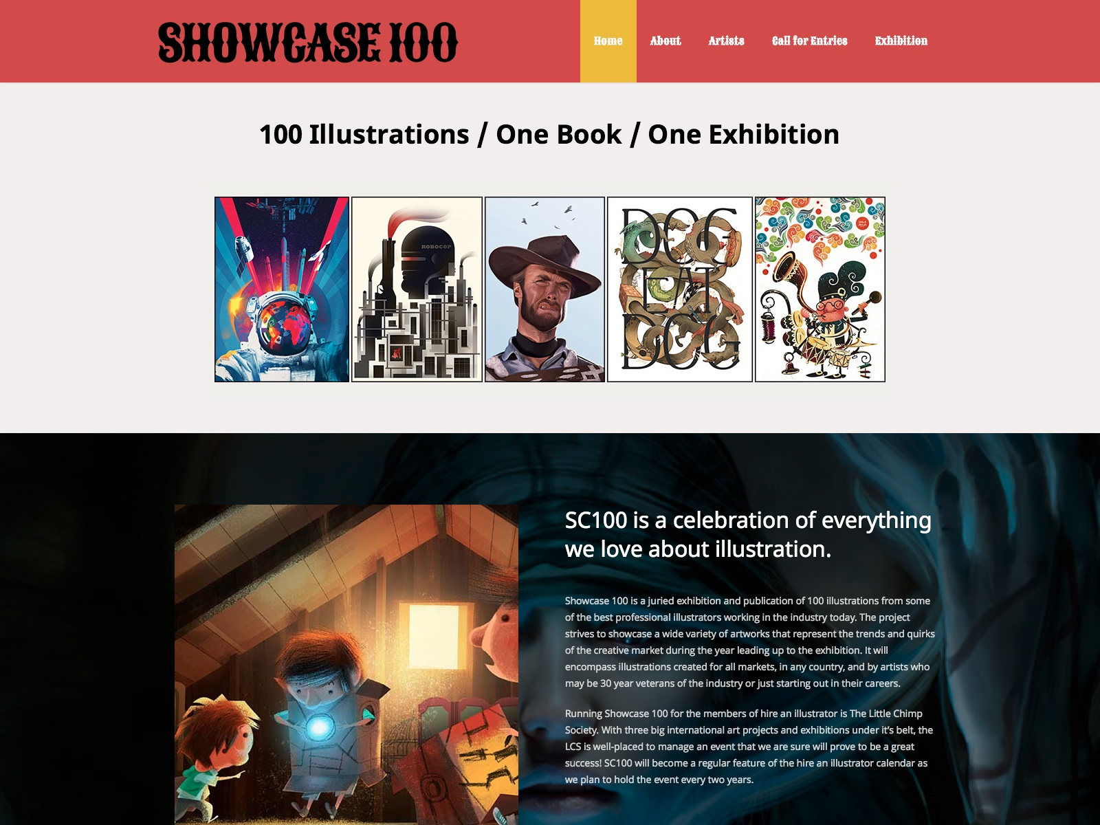 Showcase 100 - An Illustration Project, Exhibition & Book