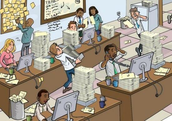 Смешные рисунки офис