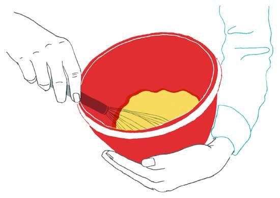 egg whisking