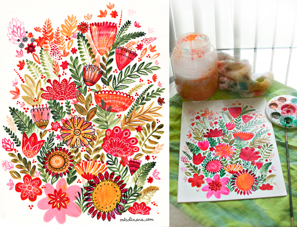 flower-tea-towels-by-dinara-mirtalipova