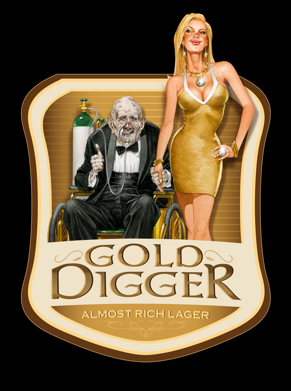 GOLD-DIGGER-LABEL