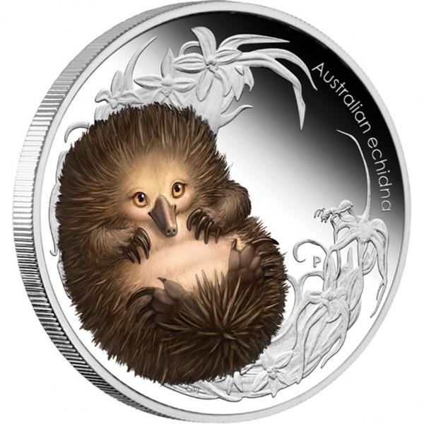 0-Bush-Babies-II-Echidna-Silver-Coin-Reverse