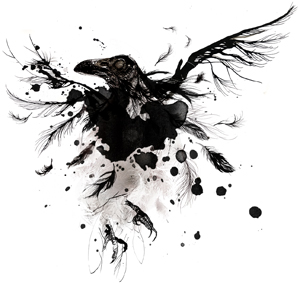 MunthePlusSimonsen_artwork-raven2013_torilbaekmark_illustration
