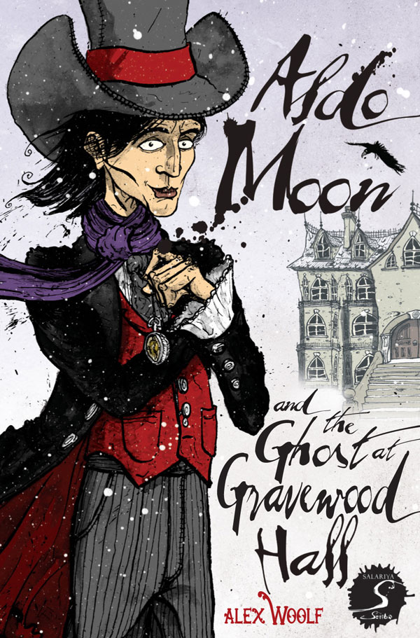 aldo-moon-and-the-ghost-at-gravewood-hall-victorian-psychic-detective-alex-woolf-illustrated-by-david-procter