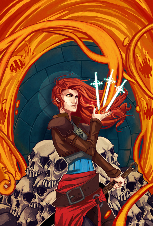 Fantasy Book Cover Artists For Hire : Fire witch cover design hire an illustrator