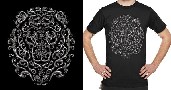 Bearoque_FINAL_Threadless_Shirt