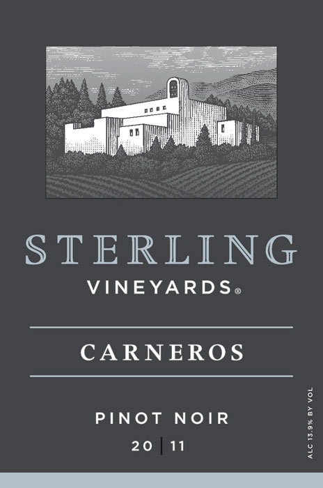 SterlingVineyardsPinotNoirCarnerosfrontlabel