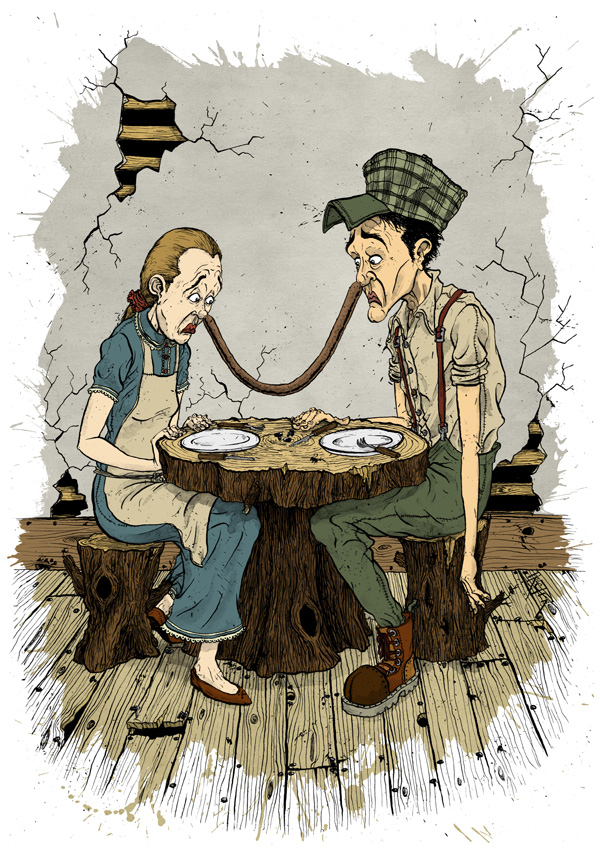two-and-one-woodcutter-wife-sausage-david-procter