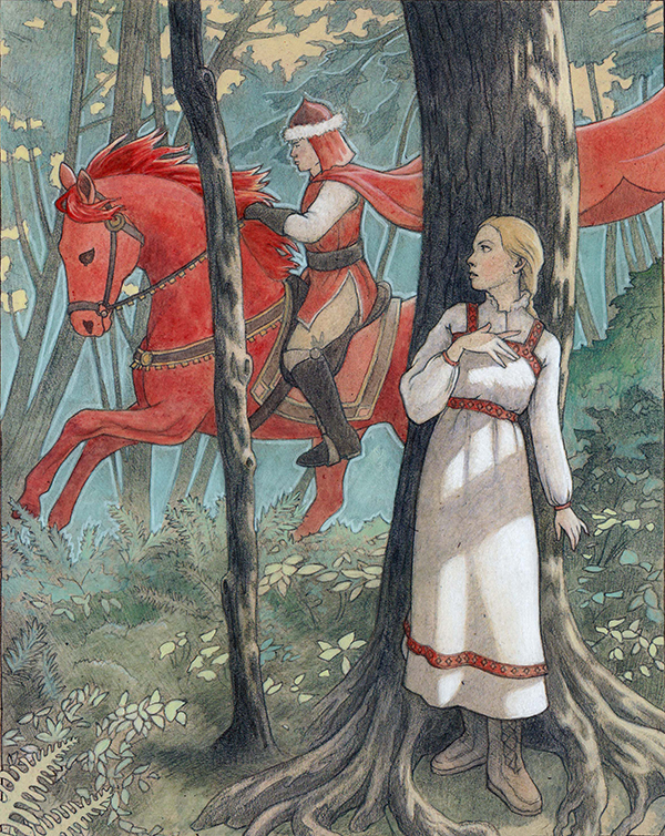 russian fairy tales A short and informative summary about the history of russian fairy tale plates in the united states circa 1988 to 2005.