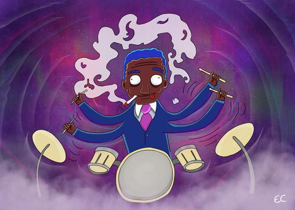 Art-Blakey-and-the-Jazz-Messengers-Sakeenas-Vision-jazz-and-draw-600