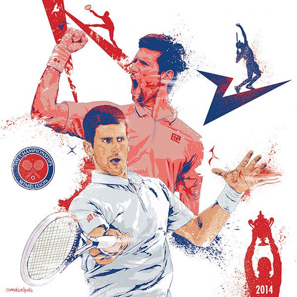 Djokovic-2014-Wimbledon-Camp