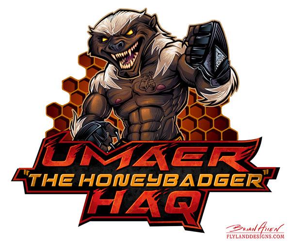 Honey Badger MMA Mascot