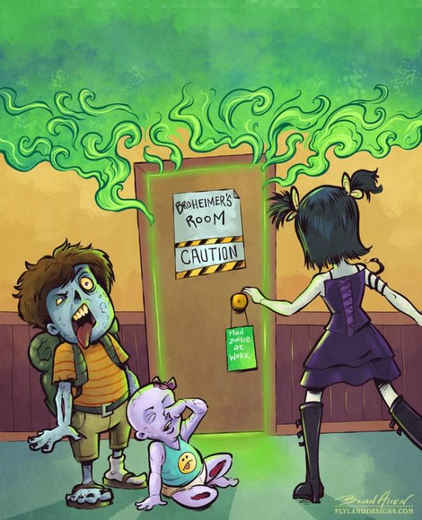 Zombie Children's Book
