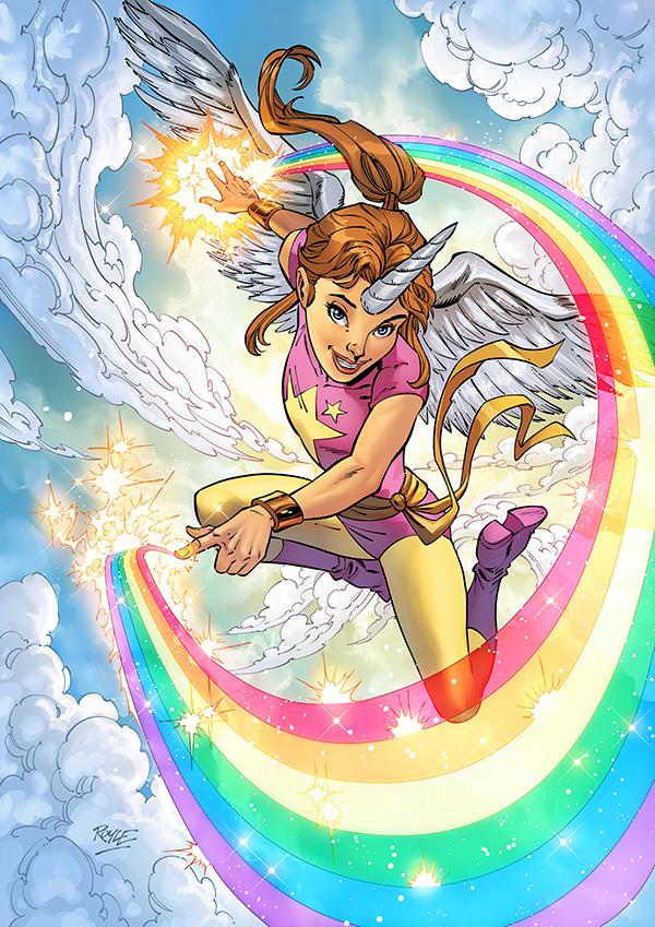 Philips-Artwork-Unicorn-Girl-Inks_colors_art-John-Royle