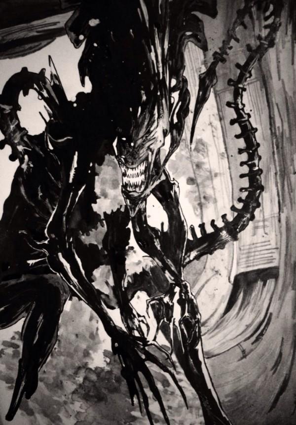 alien_queen__xenomorph__by_brendanpurchase-d7699in