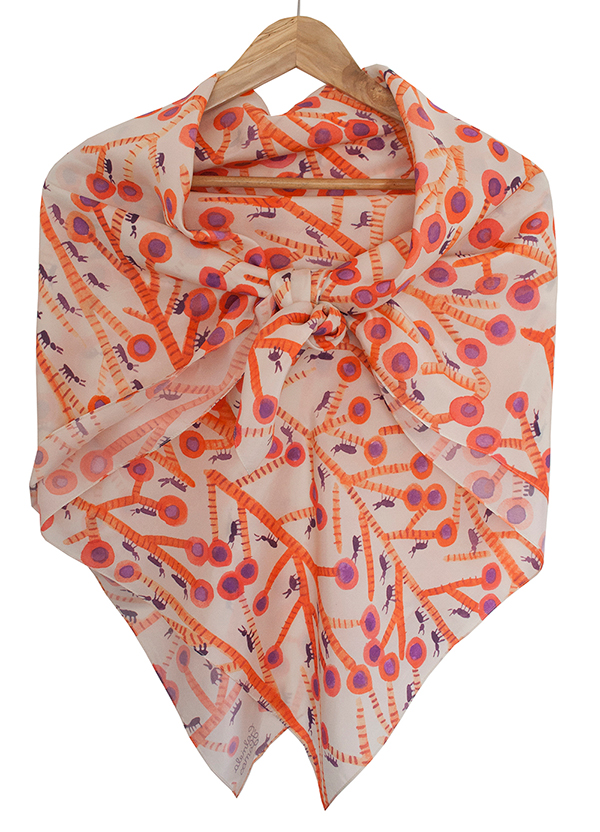 My-Favourite-said-the-Ant-Eater-Scarf-floating-Gabriela-Larios-1000px