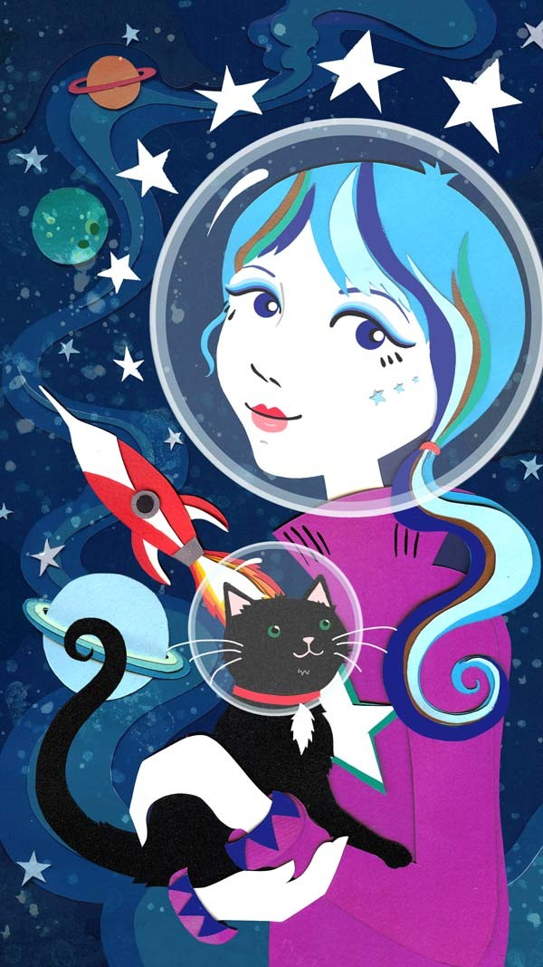 space-girl
