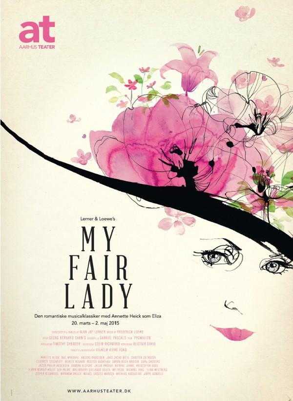 My-fair-lady_poster_toril-baekmark_watercolor-illustration
