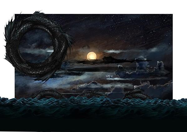 hai-Caroline-Vos-Illustration-Mermaid-Monster