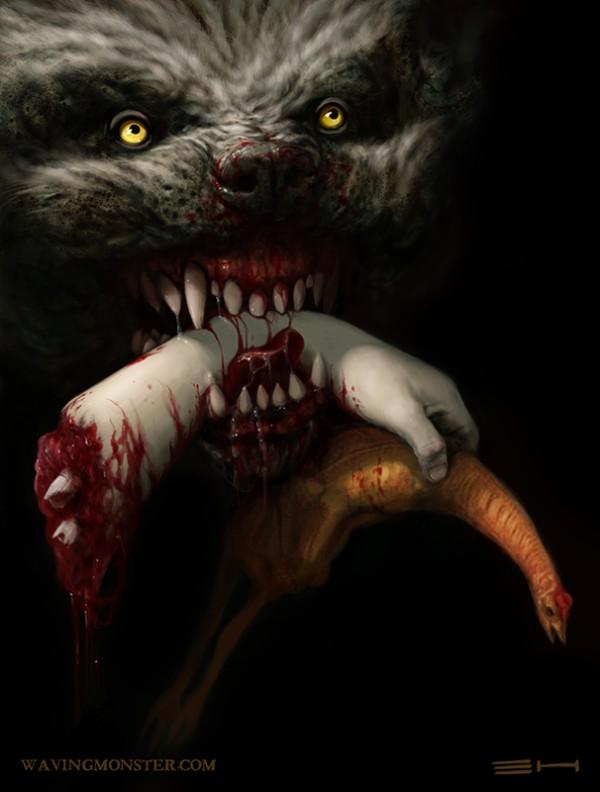 Werewolf-hand-web