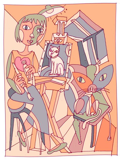 cubist-kitty-HAI