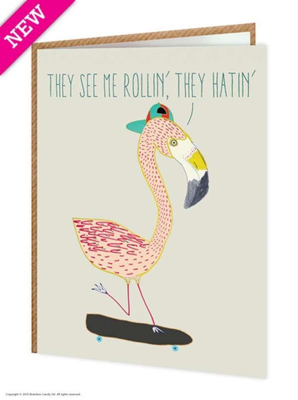 flamingo-card