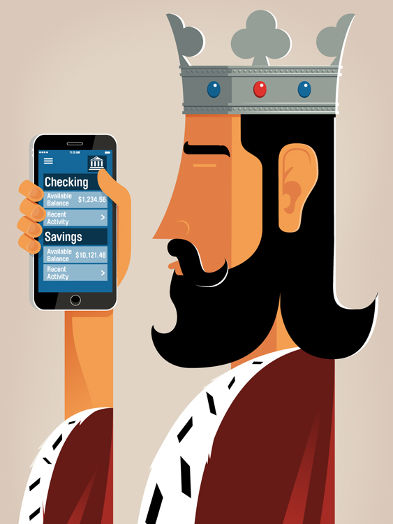 A Banking App Built for a King