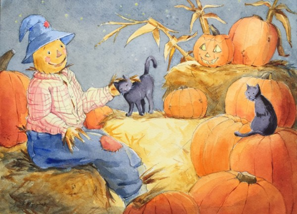 Scarecrow-Pumpkins-cats-for-HIA