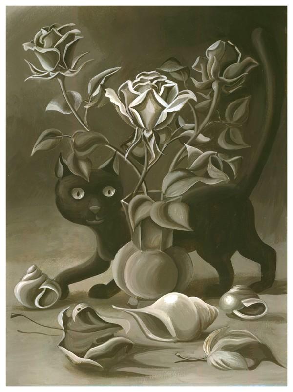 rose-and-cat-HAI2