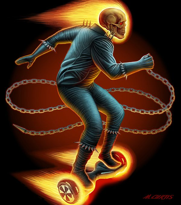 Ghost-Rider-on-a-hoverboard