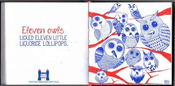 eleven-owls