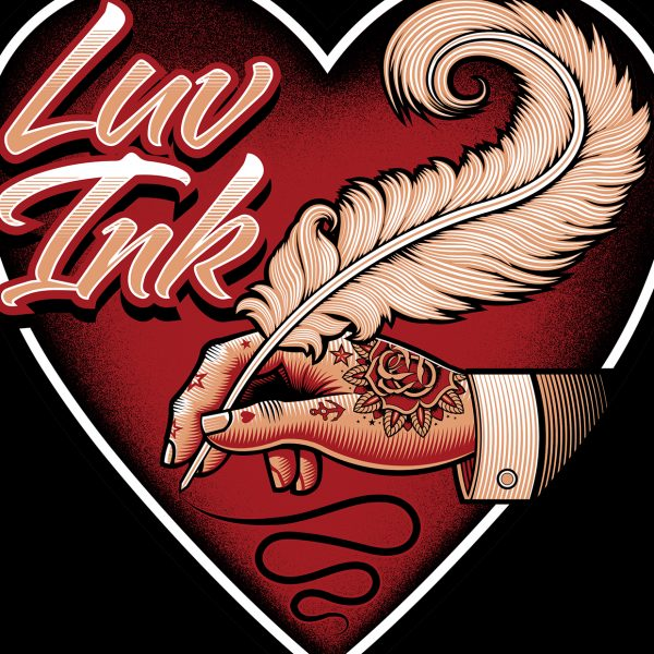 Luv ink tattoo studio logo hire an illustrator for Norristown tattoo shops