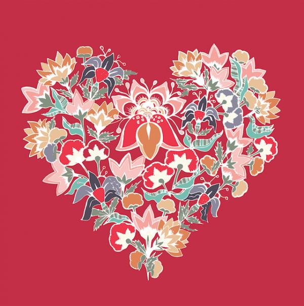Tapestry-Heart