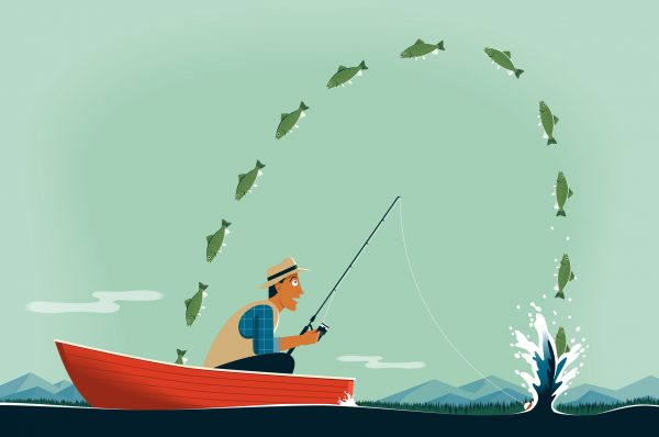 Fishing for Dividends