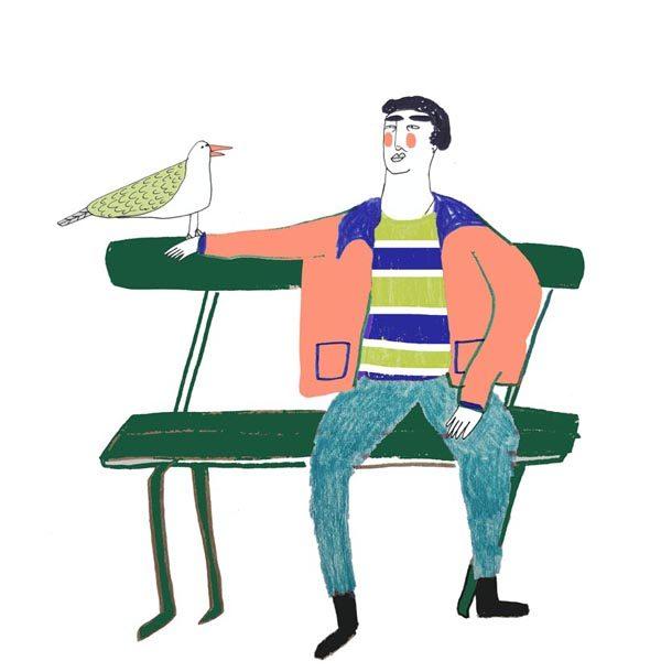 bench-man-hai