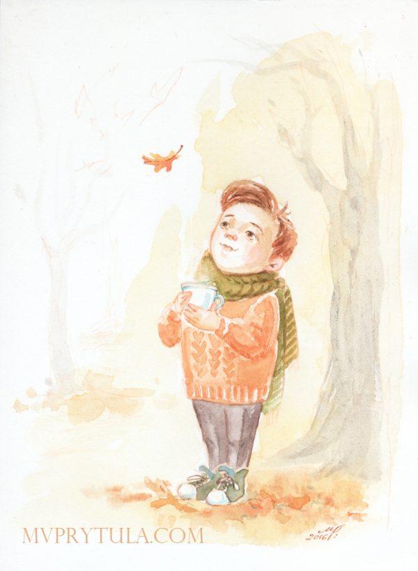 Boy-with-leaf